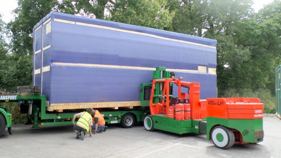 Export Packing Being Shipped